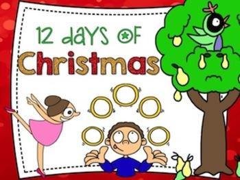 12 Days of Christmas Printable Book