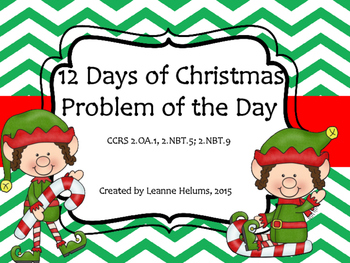 12 Days of Christmas- Problem of the Day
