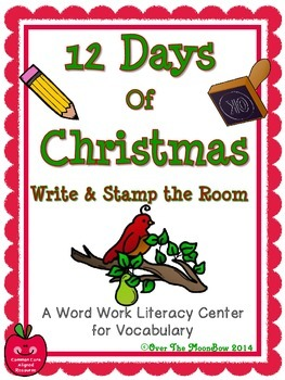 12 Days of Christmas Write / Stamp the Room Activity Pack