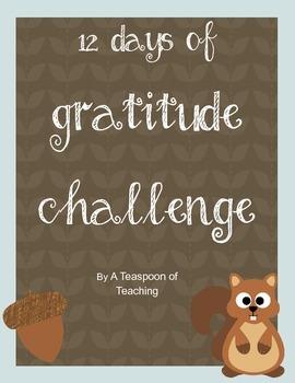 #thankfulsales 12 Days of Gratitude Challenge