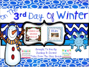 {$1 Deal} 12 Days of Winter- 3rd Day