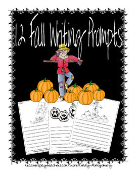 12 Fall Writing Prompts