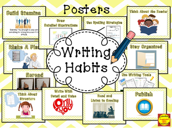 Writing Habit Posters