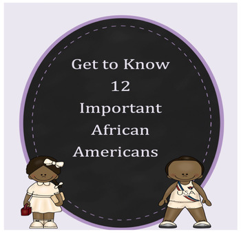 12  Important & Famous African Americans