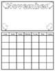 12 Month Student Calendar