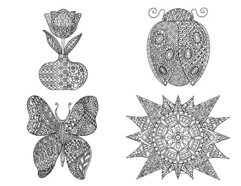 12 Months of Seasonal Holiday Coloring Pages: Winter, Spri