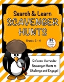 12 Search & Learn Scavenger Hunts for Grades 2-4