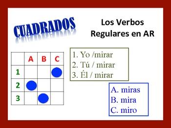 Spanish AR Verb Activities; Do Now, Fast Finisher, Homework