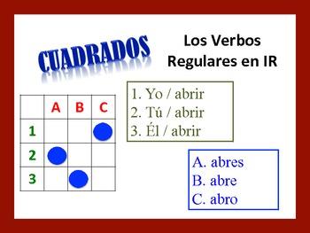 Spanish IR Verb Activities; Do Now, Fast Finisher, Homework