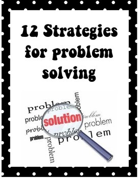 12 Steps to Problem Solving