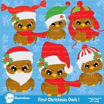 Christmas Owls AMB-355