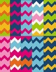 Chevron Papers #1 Clip Art ~ CU OK ~ 8.5 x 11