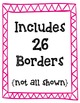 Zig Zag Borders Clipart ~ Commercial Use OK