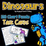 120 Chart Task Cards and Printables - Dinosaurs