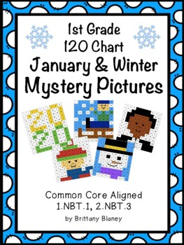 120 Chart January Mystery Pictures 6-Pack
