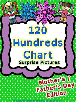 Math: 120 Chart Mother's & Father's Day Mystery Pictures
