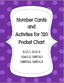120 Chart Squares & Activities  K.CC.1  K.CC.3  1.OA.C.5 1