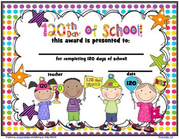 120 Day Award Certificates