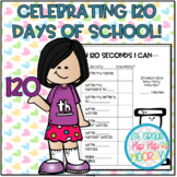 120 Days of School...Cool!!  Activities and Games