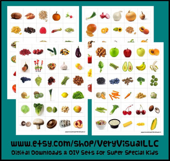 120 FRUIT & VEGETABLE PECS PictUrE CaRdS DiGiTaL DoWnLoAd