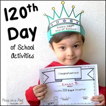 120th Day of School Activities ~ kindergarten, preschool,