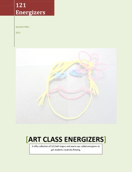 121 Art Energizers (Bell Ringers)