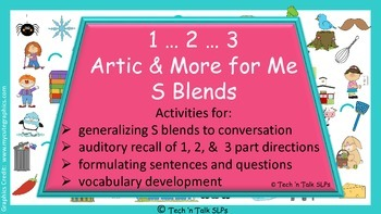 1...2...3...Artic & More for Me......S Blends