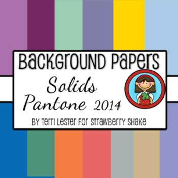 13 Background Papers Solids Pantone 2014 12x12 for persona