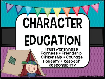 Character Education Posters! Perfect for any classroom! Ca