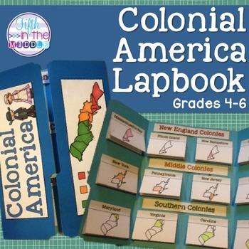 13 Colonies Lapbook/Interactive Notebook