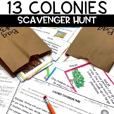 13 Colonies Scavenger Hunt Activity