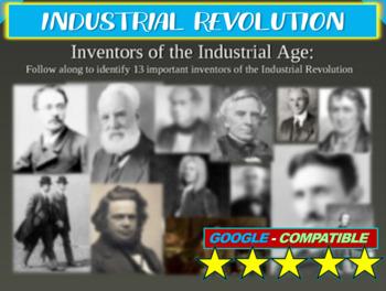 13 Inventors of the Industrial Revolution! Fun, visual, in