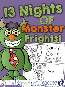 Halloween Math - 'Candy Count' Emergent Reader