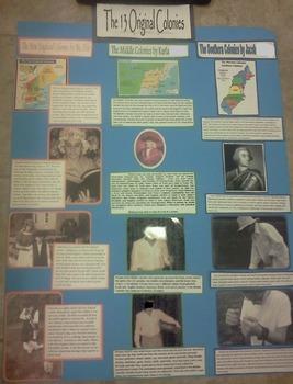 13 Original Colonies Photo Project