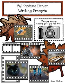 135 Fall, Picture-Driven Writing Prompts
