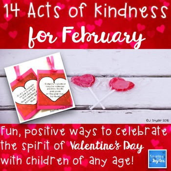 14 Acts of Kindness for February