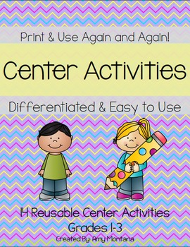 14 Differentiated, Reusable Center Activities
