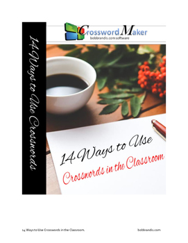 14 Ways to Use Crosswords in Your Classroom