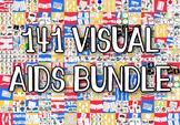 141 Visual Aids Bundle - Boardmaker Visual Aids for Autism
