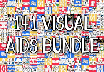 141 Visual Aids Bundle - Boardmaker Visual Aids for Autism