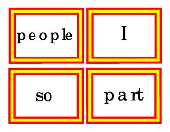 144 Pre-Primer Primer Sight Words Emergent Reader Make Sen