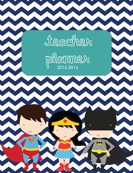 15-16 Special Ed Teacher Planner!!