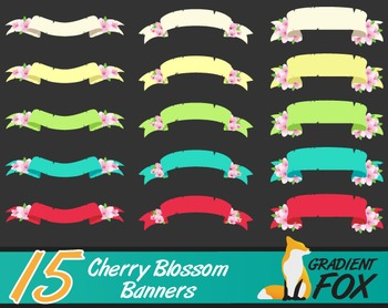 15 Cherry Blossom Banners
