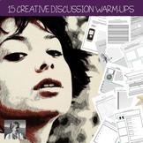 15 ELA Discussion Warm-Ups