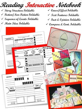 Interactive Reading Notebook Foldables (Grades: 1-3)