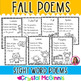 15 Fall Themed Sight Word Poems for Shared Reading (for Be