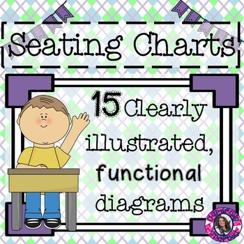 Seating Charts and Desk Arrangements Freebie!