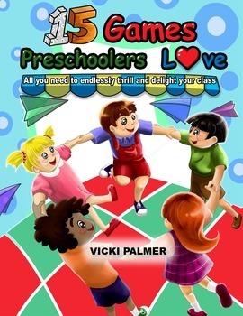 15 Games Preschoolers Love