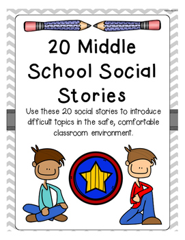 15 Middle School Social Stories