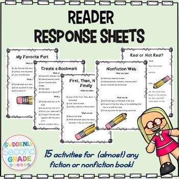 15 Reader Response Activities
